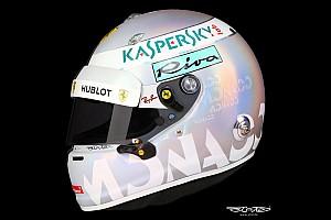 Formule 1 Diaporama Photos - Le casque spécial de Sebastian Vettel à Monaco