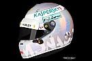 Ecco il casco perlato che Vettel userà al GP di Monaco 2018