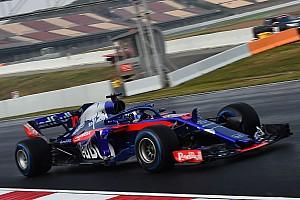 F1 速報ニュース テスト最多周回のトロロッソ・ホンダ。田辺TD「重要な第一歩だ」