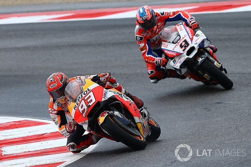 ミサノで逆転優勝のマルケス「最後まで2位になると思っていた」