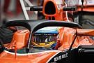 Las pruebas del Halo de la F1 son