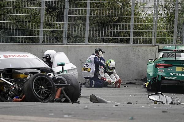 دي تي أم دي تي أم: روكينفلر وبافيت في المستشفى بعد حادثهما الخطير في نوريسرينغ