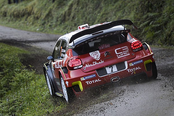 WRC: Kris Meeke nach Etappe 1 der Rallye Korsika in Führung