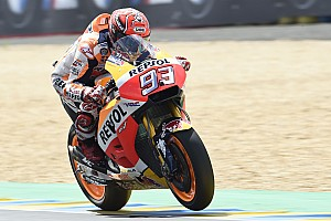 MotoGP Practice report Le Mans MotoGP: Marquez edges Folger in morning warm-up