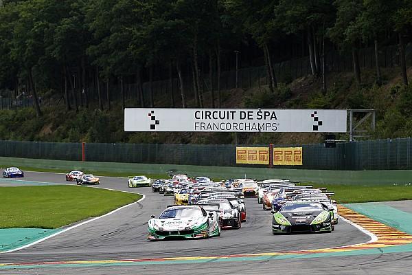 24 uur Spa - Uur 3: Lamborghini en Ferrari strijden om de leiding