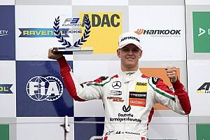 F3 Europe Actualités Mick Schumacher étonné par son premier podium