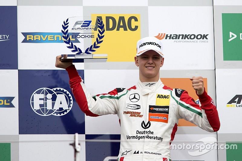Mick Schumacher étonné par son premier podium