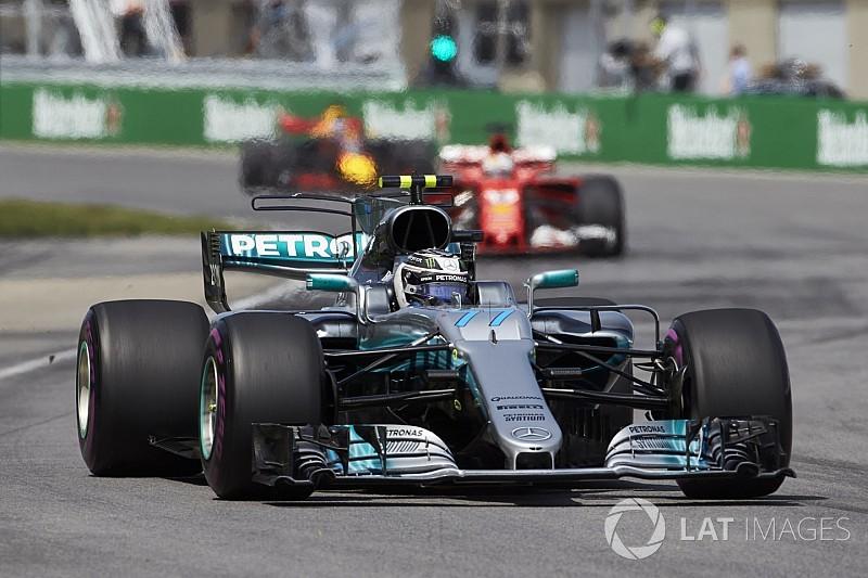 Bottas afirma que tenía el mismo ritmo que Hamilton en Canadá