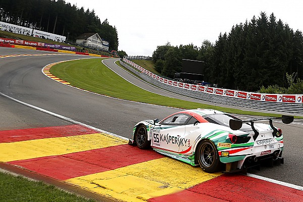 BES Reporte de calificación Ferrari logra la pole position para las 24h de Spa por 57 milésimas