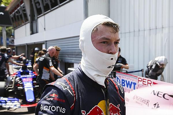 F1 Noticias de última hora Kvyat: Pérez quiso hacer maniobra de PlayStation