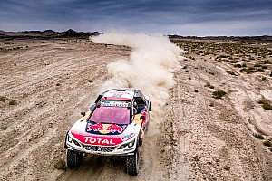 Rallye-Raid Rapport d'étape Étape 12 - Victoire de Lavieille, frayeur pour Peugeot
