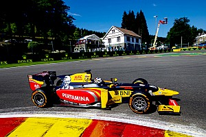 GP2 Qualifying report Spa GP2: Giovinazzi beats Gasly to pole, Sirotkin only 13th