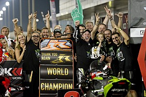 World Superbike Breaking news Rea: 2016 title sweeter after