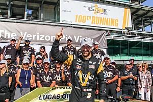 IndyCar Reporte de calificación Hinchcliffe logró la pole para Indy 500