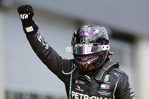Hamilton arrasa en el primer GP de Estiria; Sainz, top 10