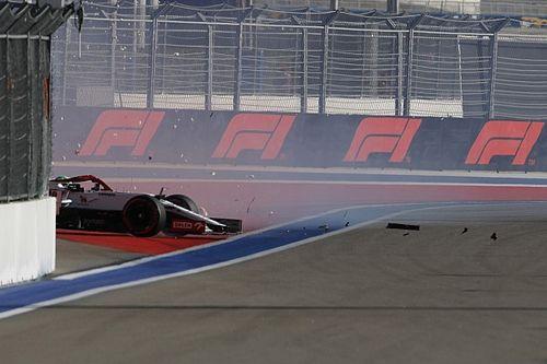Las imágenes más impresionantes del viernes de F1 en Sochi