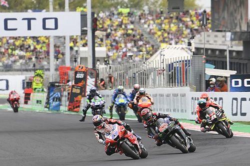 WK-stand na de MotoGP Grand Prix van San Marino