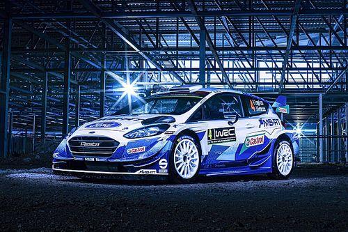 M-Sport reveals retro-inspired WRC livery