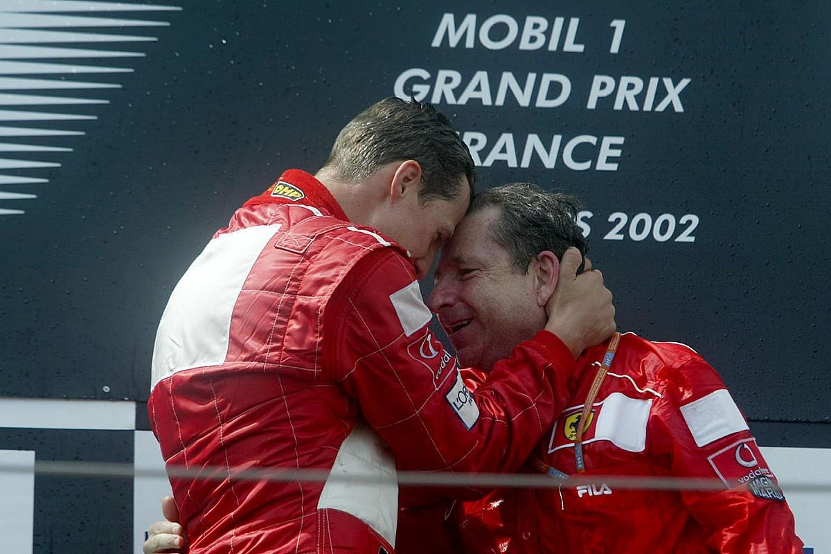 Todt: Ayda en az iki kez Schumacher'i görmeye gidiyorum
