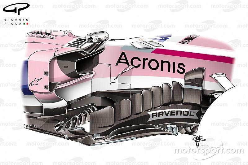 Les évolutions de Force India masquées par le GP de Singapour