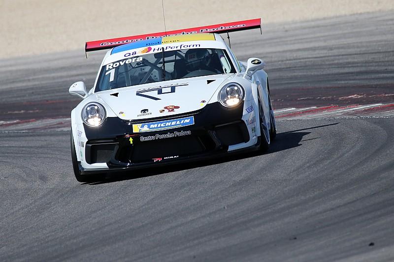 Carrera Cup Italia, Misano: Rovera resiste a Mosca e vince gara 1