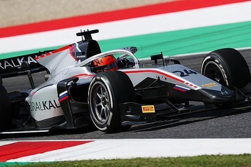 F2, Mugello: Mazepin beffa tutti, Schumacher nuovo leader
