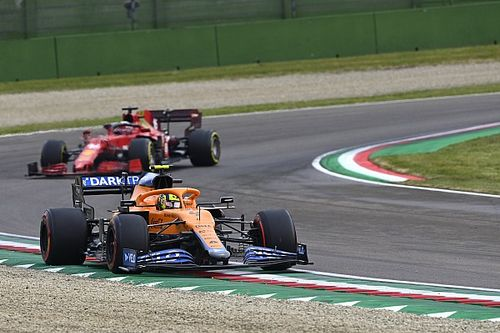 "Norris: ""Right decision"" for soft tyres at Imola F1 race restart"