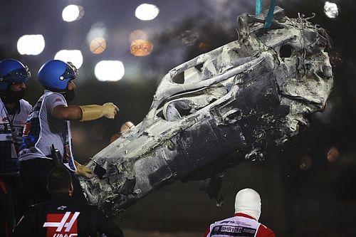 Grosjean convencido de que el Halo salvó su vida en Bahréin