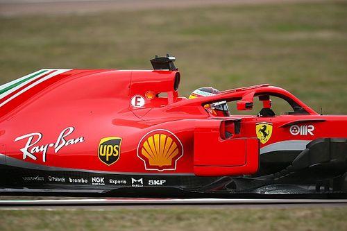 Sainz prueba el Ferrari con los Pirelli de 18 pulgadas en Jerez