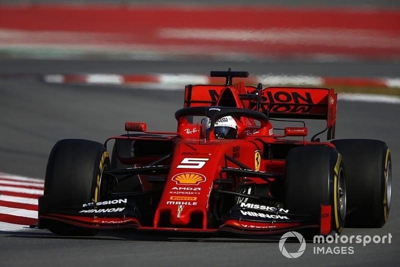 İkinci Barcelona testi 4. gün: Vettel, Hamilton'ın 0.003 saniye önünde lider!