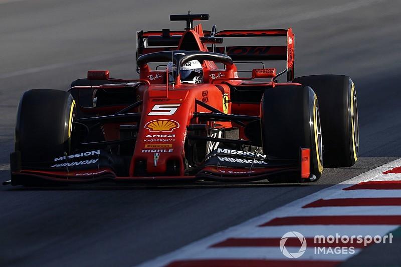 Barcelone, J8 - Vettel et Ferrari maintiennent le rythme