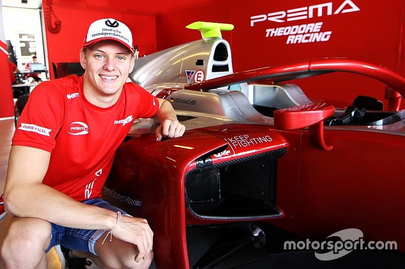 Mick Schumacher steigt 2019 in die Formel 2 auf