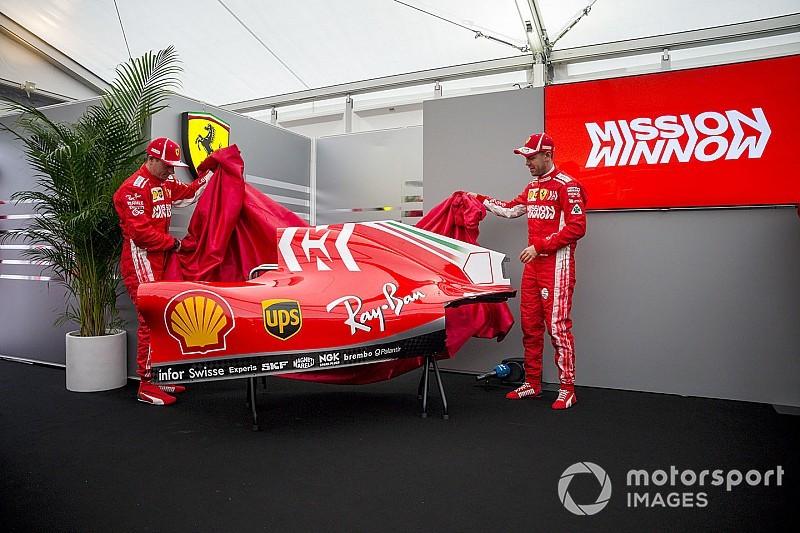 Fotogallery: ecco il logo Mission Winnow sulla livrea della Ferrari SF71H