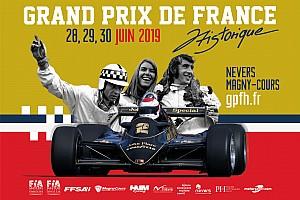 Le GP de France Historique 2019 sur la grille de départ