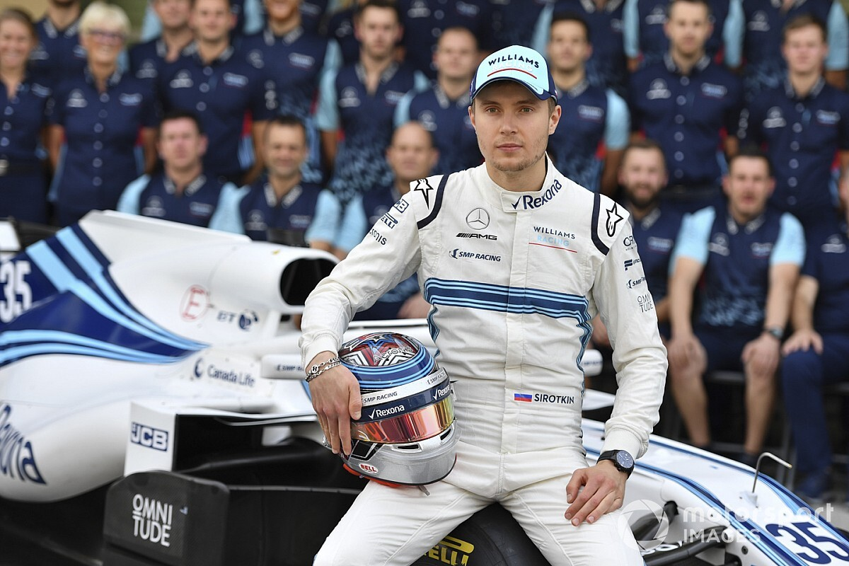 Sirotkin vise un retour en F1
