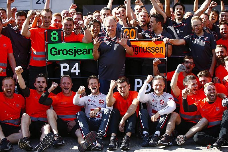 Haas: abszolút lehetséges a negyedik hely 2018-ban