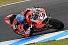 Superbike-WM Ducati hat Rückstand: Melandri sieht trotzdem Fortschritte