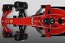 F1 フェラーリSF71Hを、昨年型SF70Hとクリック&スライド画像で徹底比較