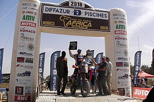 Rally Raid Tappa Paolo Ceci conquista Dakar: l'Africa Eco Race 2018 è sua!