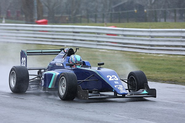 Другие Формулы Новость Монгер впервые после своей аварии провел тесты «формулы»