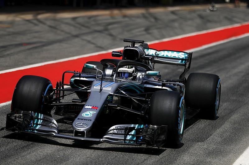 Боттас завершив лідером тести Ф1 в Іспанії