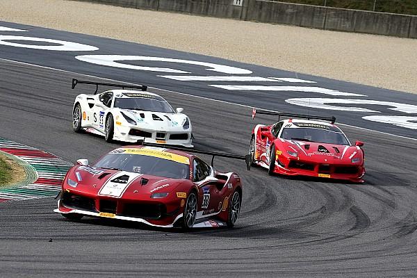 Ferrari Reporte de la carrera Laursen se lleva el triunfo en la Final Mundial de la Copa Shell