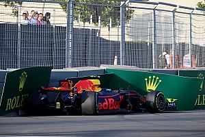 Формула 1 Новость Ферстаппен рассказал о «странной аварии» во второй тренировке