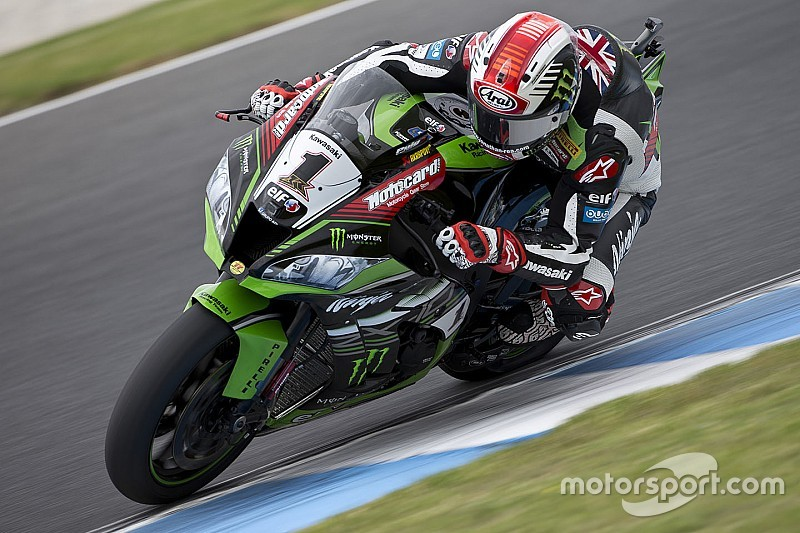 Phillip Island WSBK: Rea wins Race 1 by 0.04s