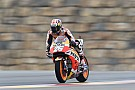 MotoGP Pedrosa topt halfnatte tweede training GP Aragon, P20 Rossi