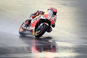 MotoGP Antrenman raporu Motegi MotoGP 1. Antrenman: Islak zeminde Marquez farkı!