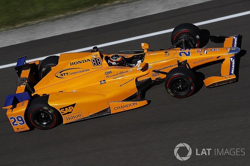 """Alonsónak bejönne egy """"indycarosan narancsos"""" festés a 2018-as F1-es McLarenen"""