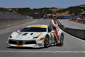 Ferrari Noticias El actor Michael Fassbender corrió con Ferrari