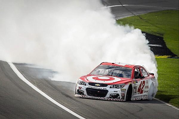 NASCAR Cup NASCAR in Fontana: Kyle Larson beendet sieglose Serie