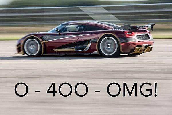 Automotive Koenigsegg hints Bugatti Chiron's 0-249-0mph record in danger